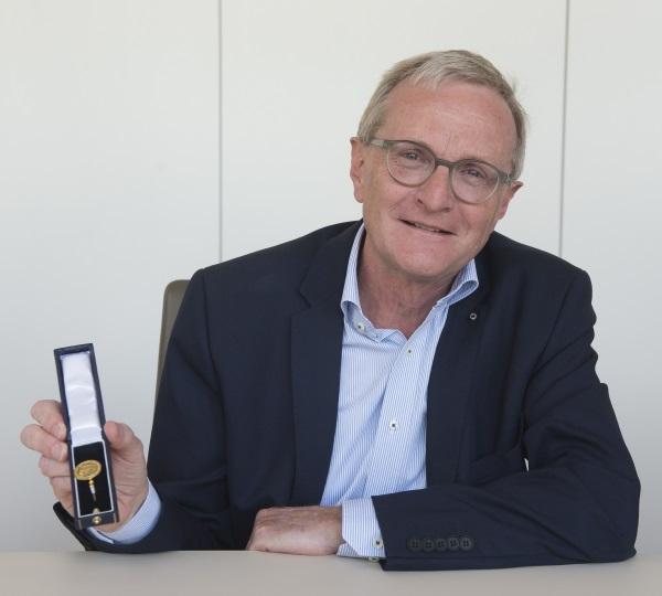 Dr. Horst Alsmöller geth in den Ruhestand
